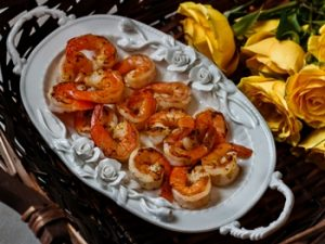 receta de camarones ala mantequilla