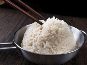 arroz chino basmati cocinado