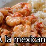 Camarones a la Mexicana