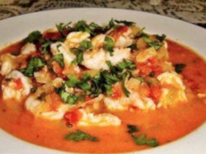 receta de camarones a la mexicana