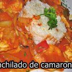 Enchilado de camarones cubano