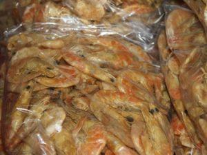 camarones secos