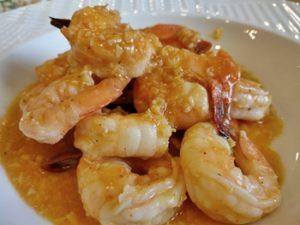 receta de camarones al mojo de ajo